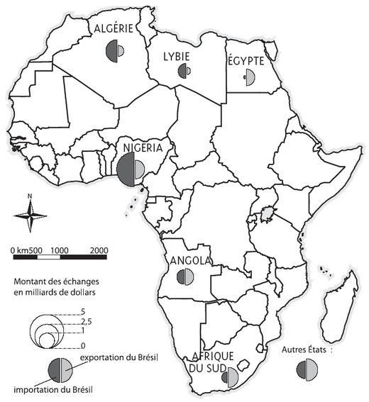 Le br sil une puissance africaine for Ministere du commerce exterieur