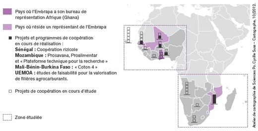 L agriculture ivoirienne et l agriculture bresilienne etude comparée
