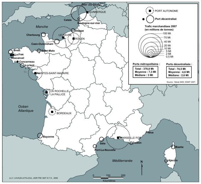 La Decentralisation Des Ports En France De La Recomposition