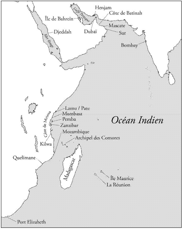 Carte De Locean Indien Occidental.Parler En Son Nom Cairn Info