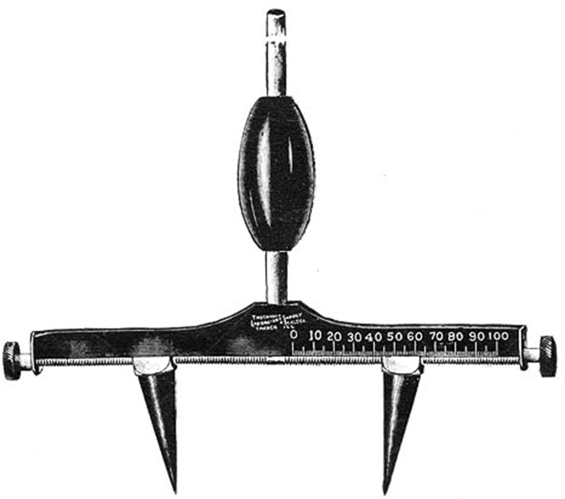 Webers Compass And Aesthesiometers History Of The
