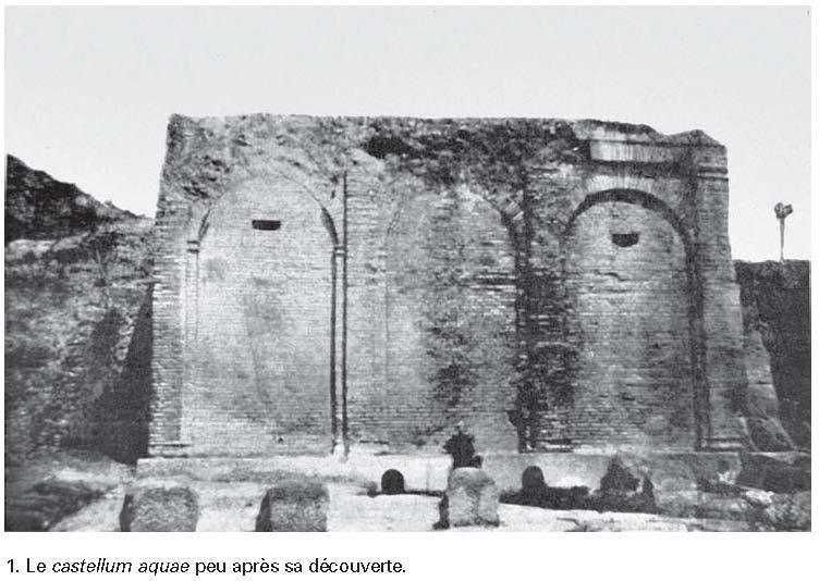 le castellum aquae de pomp u00e9i   u00e9tude architecturale