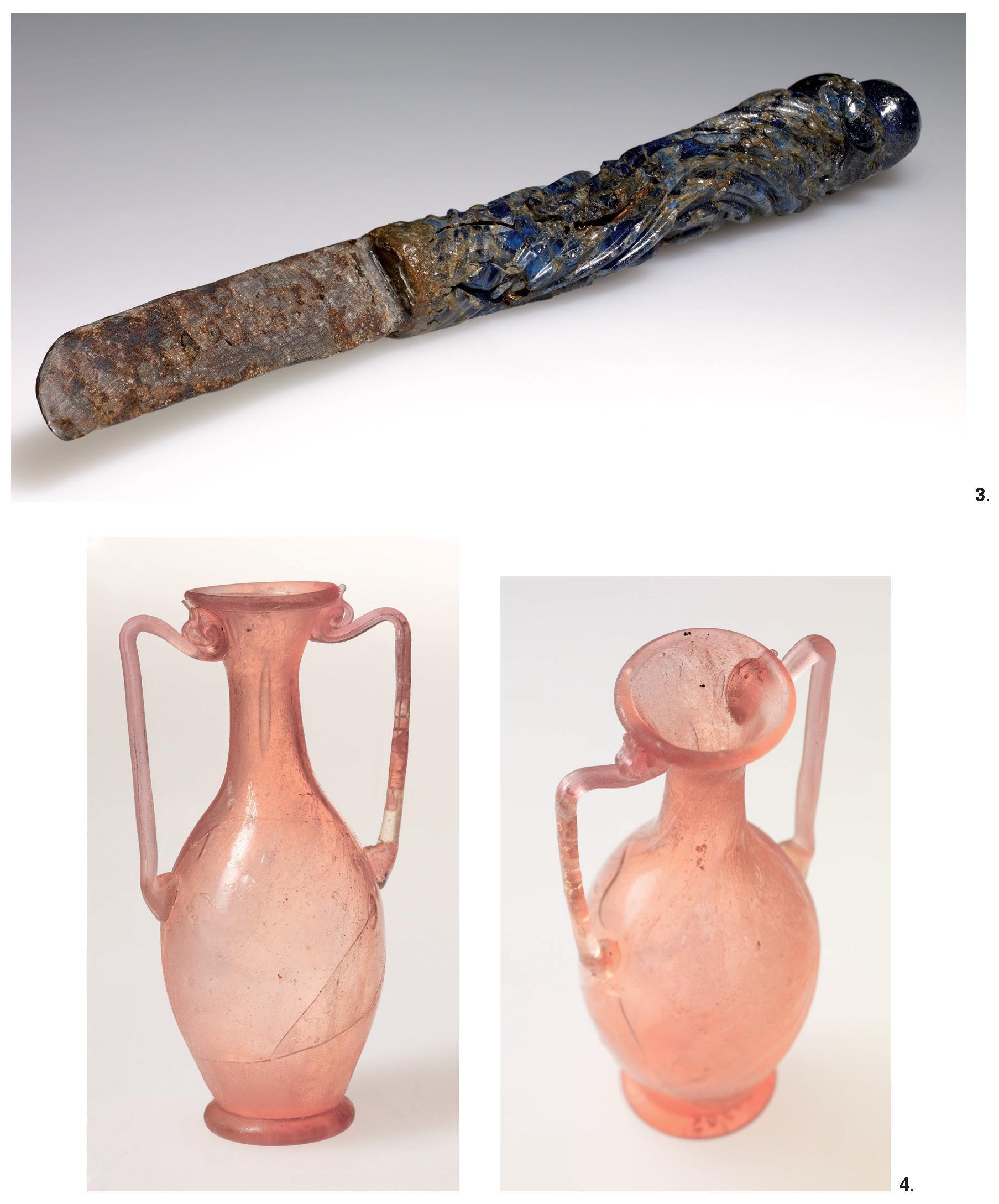 Souffleur De Verre Ile De Ré verres de l'antiquité gréco-romaine : trois ans de