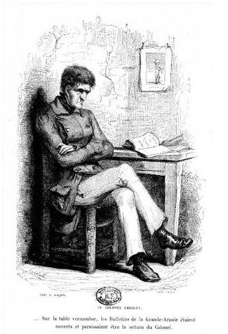 Dissertation colonel chabert