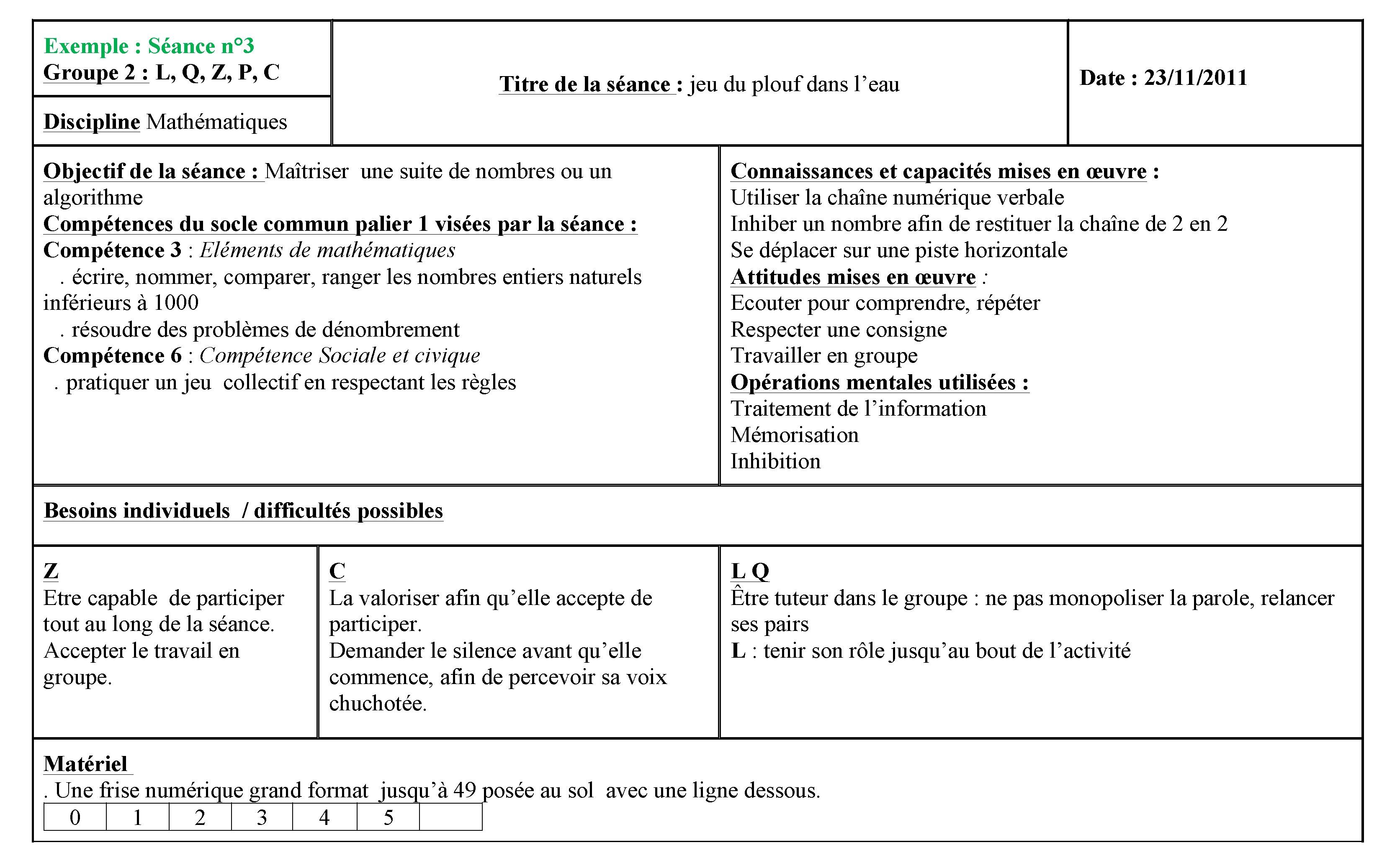Troisieme Partie Des Outils Pour Enseigner En Ime Cairn Info