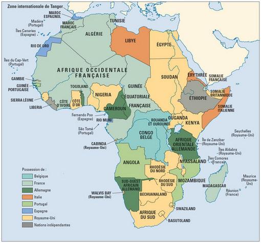 Carte De Lafrique Subsaharienne.Densite Distance Et Division En Afrique Subsaharienne