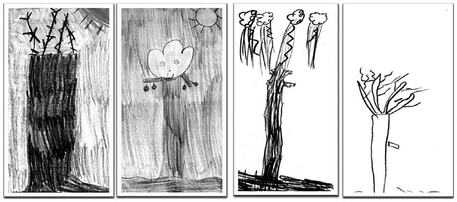 Coloriage Arbre Du Ciel.Le Dessin De L Enfant Et Son Usage Dans La Pratique