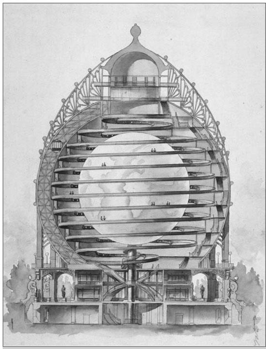 Steampunk voir le sujet un globe terrestre pour for Architecture utopiste