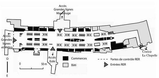 concevoir un espace de transit et de consommation la gestion de site dans les gares. Black Bedroom Furniture Sets. Home Design Ideas