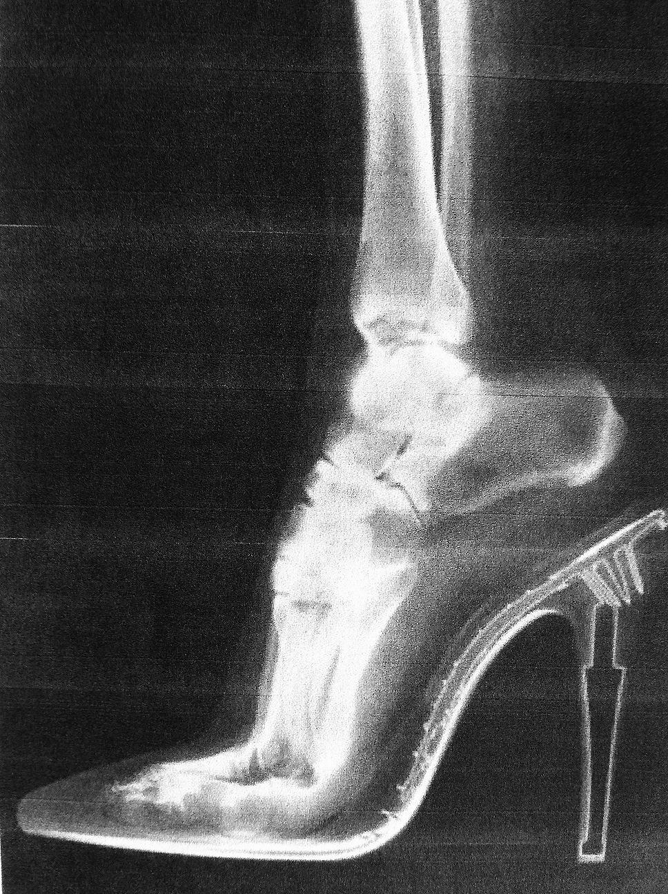 Chaussure A Talon Moderne