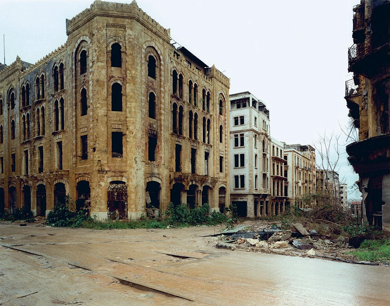 Gabriele Basilico, Beyrouth, 1991.