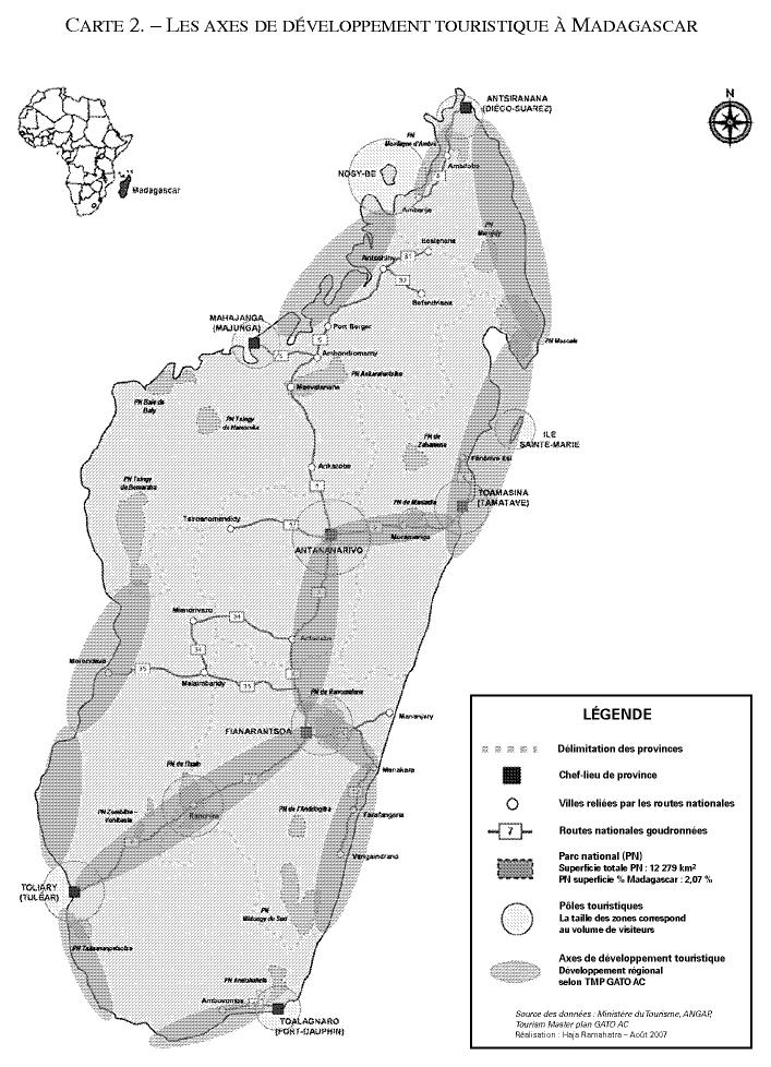 Carte Miniere De Madagascar Pdf.Geopolitique Du Tourisme A Madagascar De La Protection De
