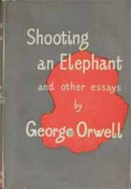 shooting an elephant questions for essay For wta tour tennis on the gamecube, a gamefaqs message board topic titled george orwell shooting an elephant rhetorical analysis essay.