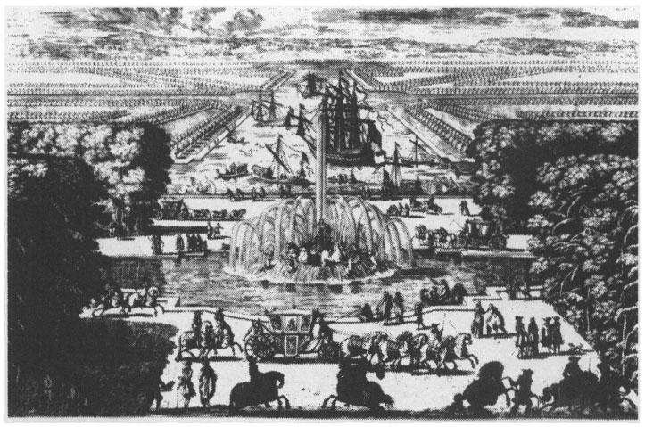 Les eaux de Versailles sous Louis XIV | Cairn.info