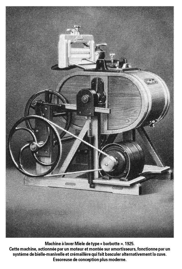 L 39 influence des structures industrielles sur la conception for Machine a laver semi professionnelle