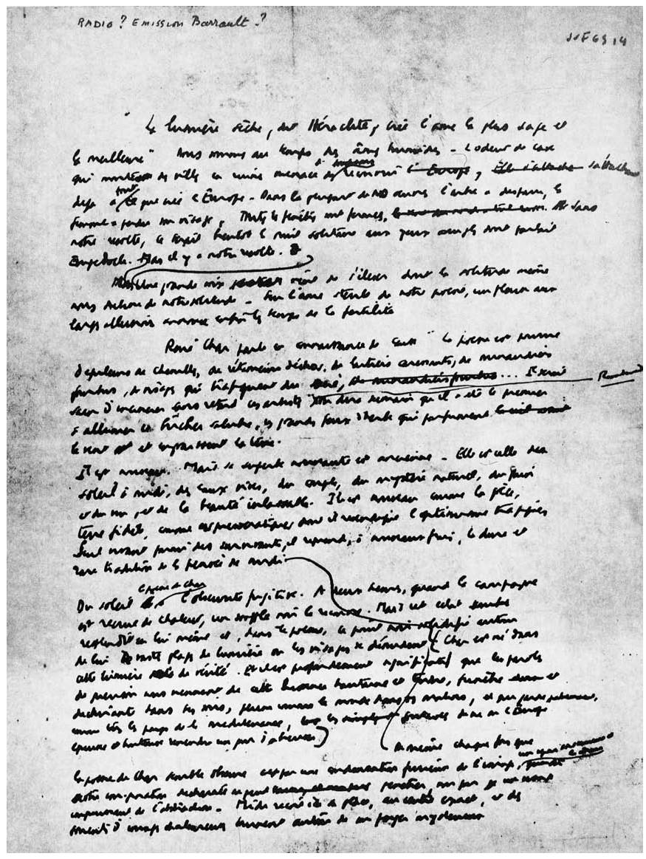 Albert Camus Parle De René Char Cairn Info