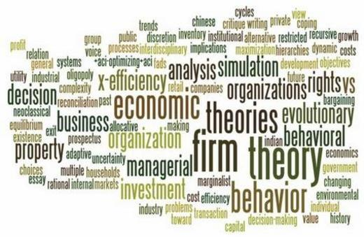 Behavioral theory of the firm: hopes for the past; lessons ...