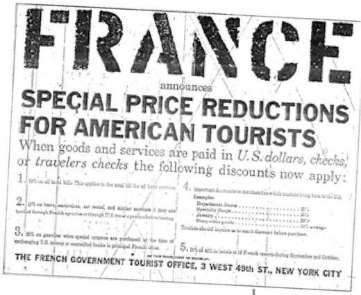 Le tourisme am ricain en france un enjeu de relations internationales - Office du tourisme de new york ...
