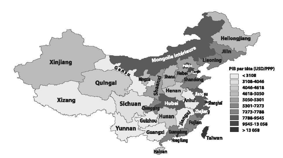 Carte Chine Hunan.La Migration Interne En Chine Cairn Info