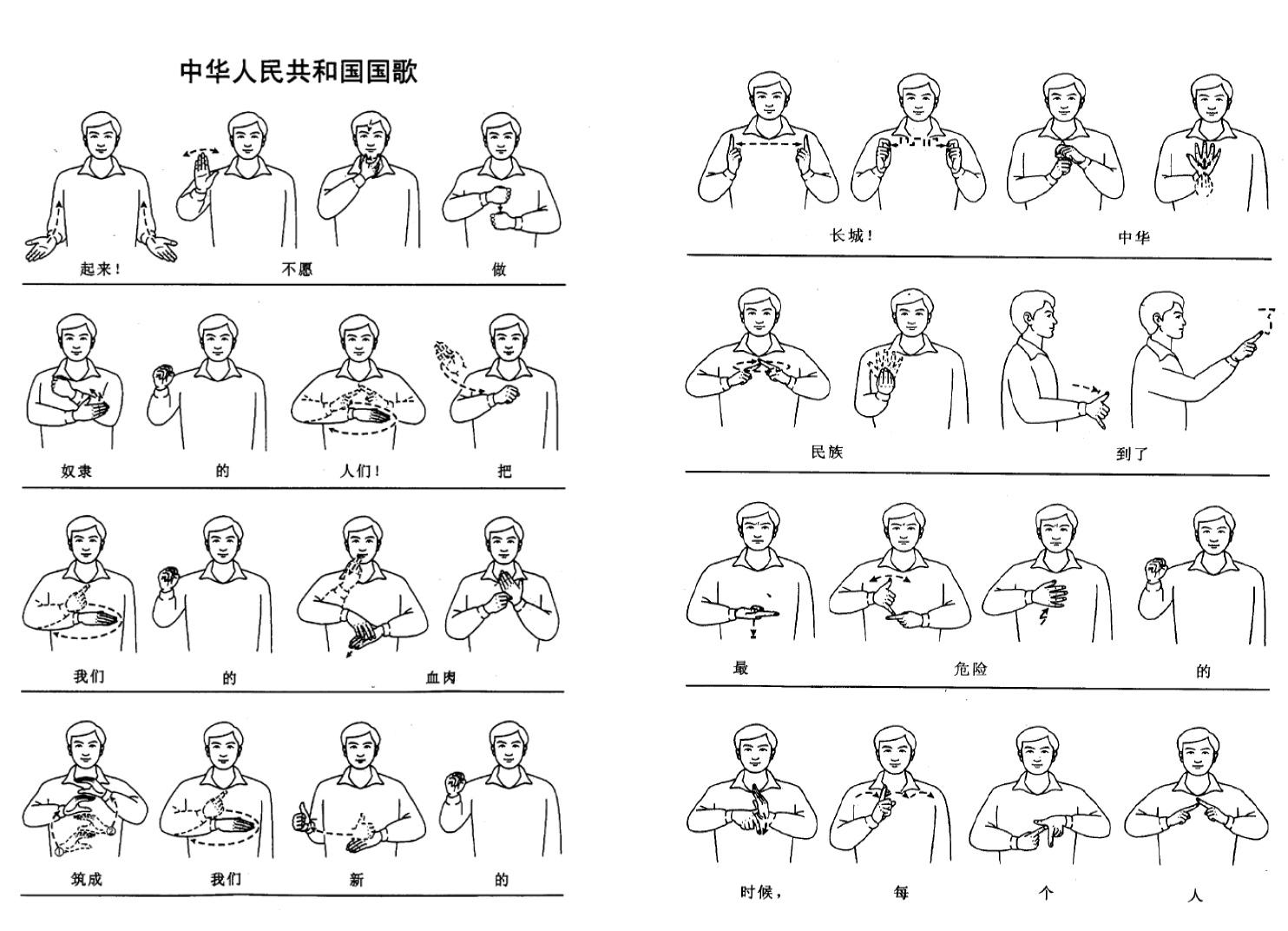 traduction langage des signes