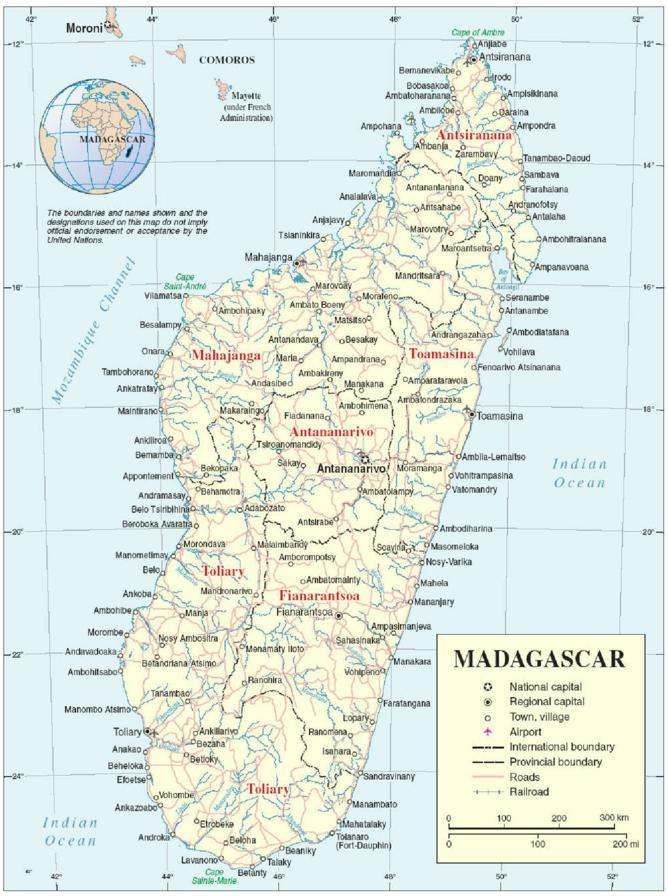 Carte Miniere De Madagascar Pdf.Madagascar Les Enjeux D Une Diplomatie En Plein Essor