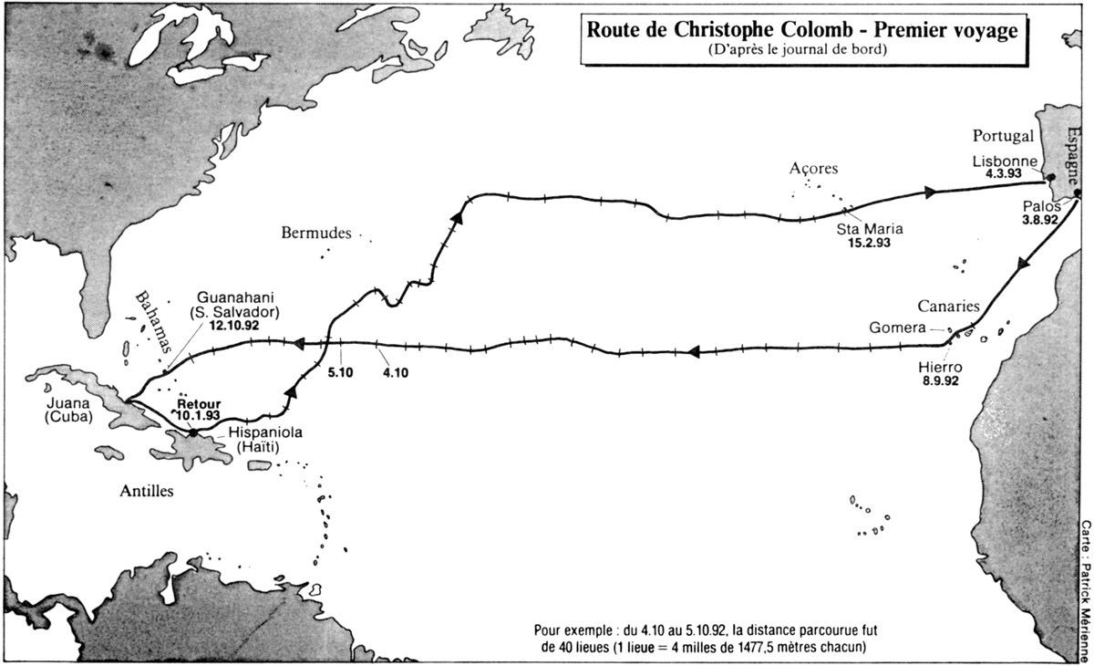 4 - 1492 : Le voyage initiatique : Christophe Colomb, les frères ...