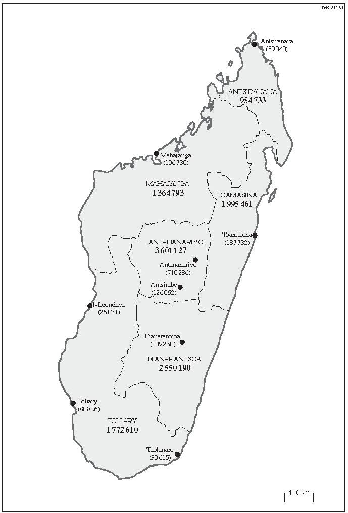 Carte De Madagascar Complet Pdf.La Situation Demographique De Madagascar Cairn Info
