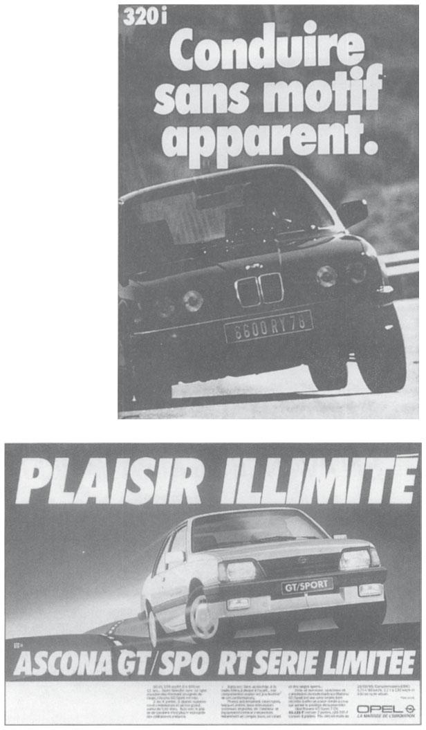 Double Pages Collectibles Publicite Advertising 014 1981 Renault 9 Macadam Star