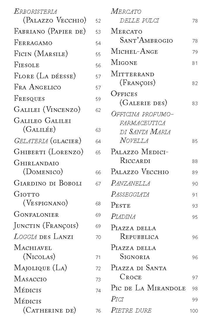 Les 100 Mots De Florence Cairninfo