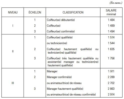Les Salaires Minima De Branche En France Cairninfo