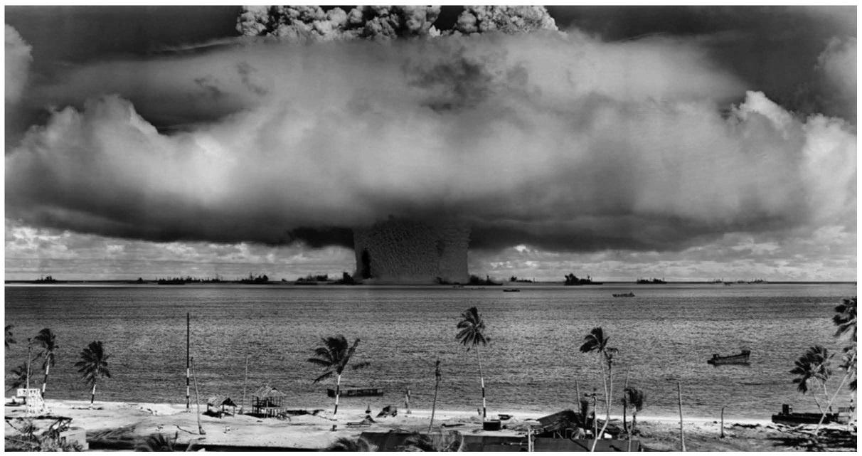 Magic Mushroom Clouds: The Atomic Bomb as American