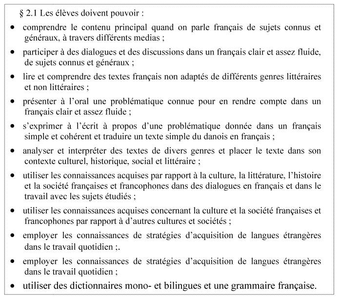 l u0026 39 application du cadre europ u00e9en commun de r u00e9f u00e9rence dans les nouveaux programmes de fran u00e7ais au