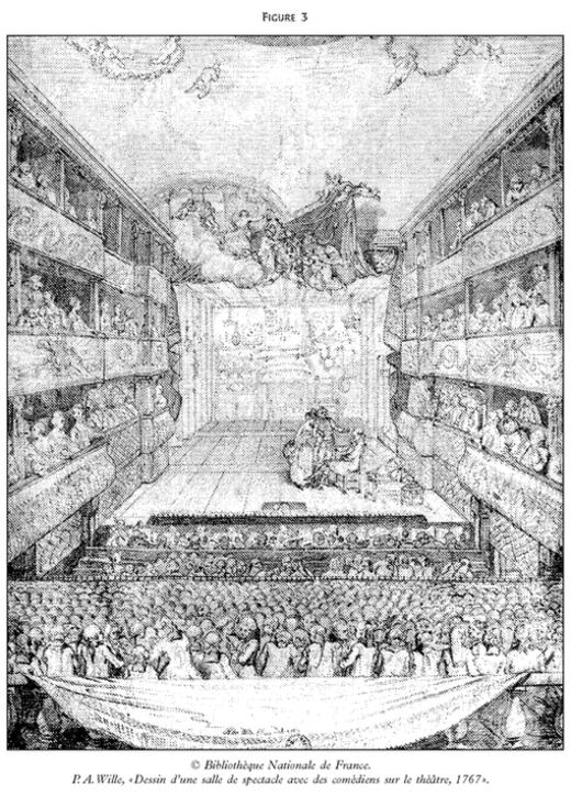 Le th tre et ses publics pratiques et repr sentations du parterre paris au xviiie si cle - Salle de l esprit et du temps ...