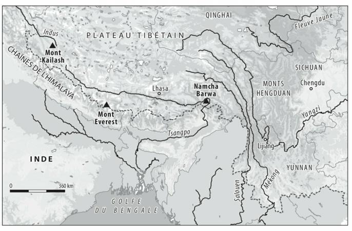 Les Eaux De Lhimalaya Barrages Géants Et Risques