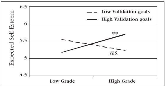 grades and self esteem summary