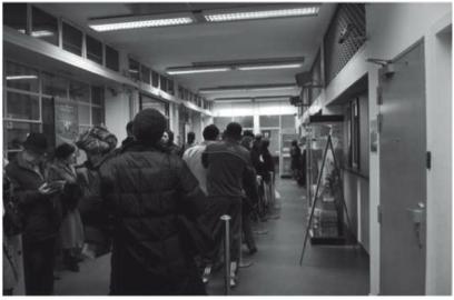 Organisation des bureaux de poste et gestion de la file dattente