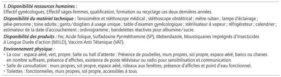 Disponibilite Ressources Humaines Effectif Gynecologues Sages Femmes Qualification Formation Ou Recyclage Ces Deux Dernieres Annees