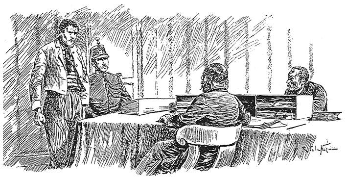 Le cabinet d un juge d instruction parisien vers 1890. 903b0d781a3