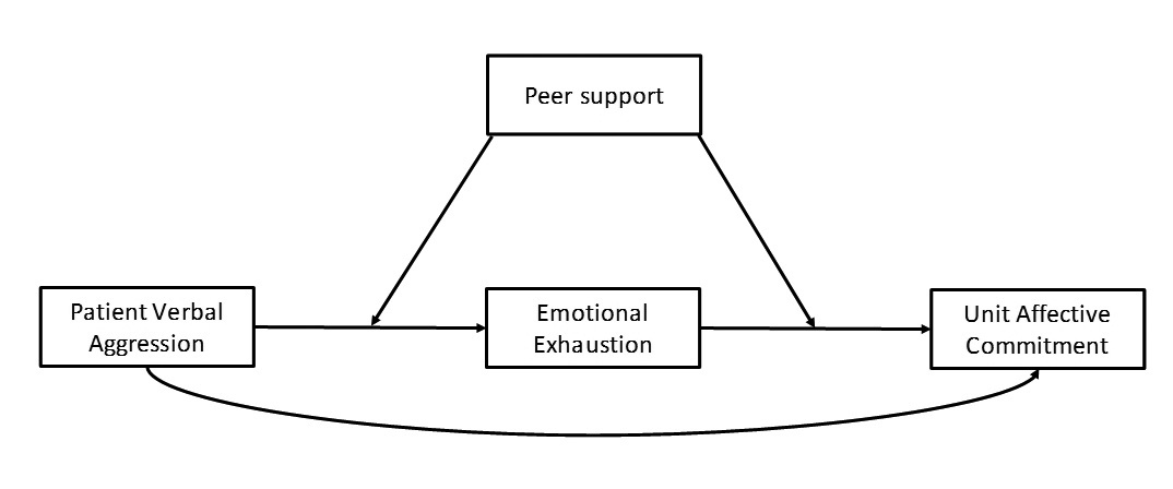 Patient verbal abuse, emotional exhaustion, and affective commitment