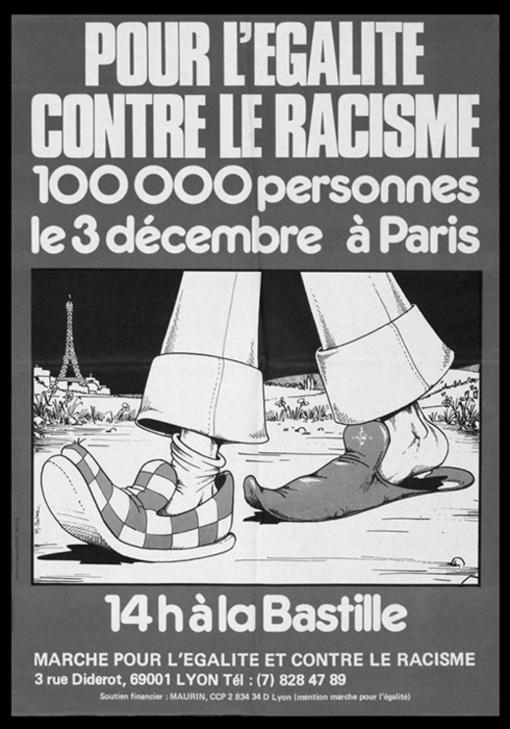 """Résultat de recherche d'images pour """"marche pour l'égalité 1983 affiche"""""""