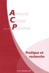 Approche Centrée sur la Personne. Pratique et recherche 2011/1