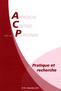 couverture de ACP Pratique et recherche n°18