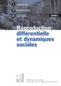Annales de démographie historique 2008/1