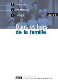 Annales de démographie historique 2010/1
