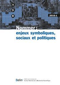 Annales de démographie historique 2016/1