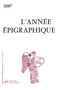 couverture de AEP_2007