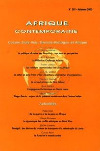 Afrique contemporaine 2003/3