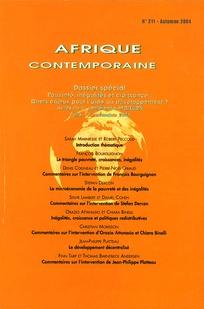 Afrique contemporaine 2004/3