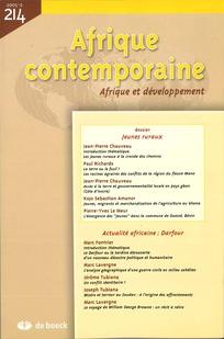 Afrique contemporaine 2005/2