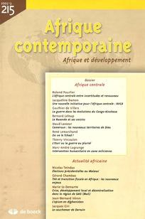 Afrique contemporaine 2005/3